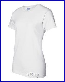 150 Gildan WHITE T-SHIRTS BLANK BULK LOT  Plain S-XL Wholesale