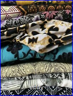 100 Items Vintage Clothing Wholesale Job Lot Womens Mixed Clothing