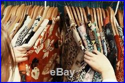100 Wholesale JobLot Samples New Mixed Clothing Fashion Un/ Branded CarBoot Sale