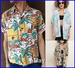 20 pcs x Vintage Hawaiian Shirts Mens Womens Job lot Wholesale