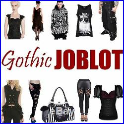 200 x New WHOLESALE Goth JOBLOT Skirts Dress Coats Tops CLOTHING Gothic BRANDS