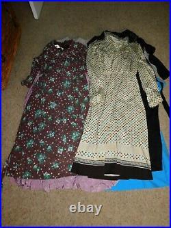 30+ VINTAGE WHOLESALE Dresses Knitwear 40s 50s 60s 70s 80s Job Lot