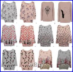 30 Women WHOLESALE JUMPERS CLOTHING Bulk Job Lot Knitwear new with tags UK
