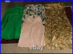 40+ VINTAGE WHOLESALE Dresses Blouses 40s 50s 60s 70s 80s Job Lot