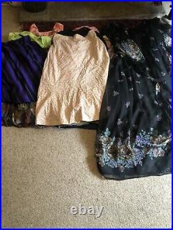 40+ VINTAGE WHOLESALE Dresses Blouses Skirts 50s 60s 70s 80s Job Lot