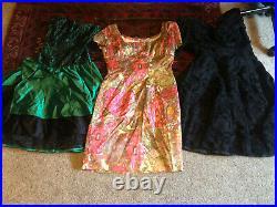 45+ VINTAGE WHOLESALE Dresses 40s 50s 60s 70s 80s Job Lot
