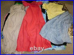 45+ VINTAGE WHOLESALE Dresses Blouses 50s 60s 70s 80s Job Lot