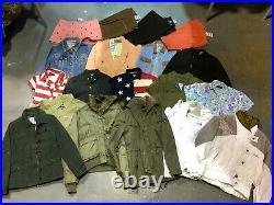 46 Branded Womens Wholesale Shirt Sweatshirt Shorts Jeans Joblot Bulk