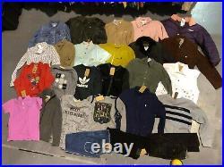 46 Womens Wholesale Sweatshirt MOSCHINO BARBOUR Shorts Jeans Joblot Bulk DEPOP