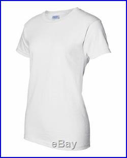 3e84e2d9 50 Gildan Ladies Heavy Cotton White T-Shirt 5000L Bulk Lot Wholesale Women S -