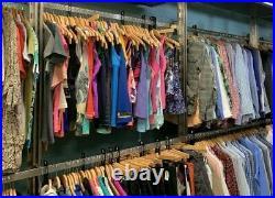 50 PC lot of women clothing tops pants skirts shirts wholesale Resale Bulk