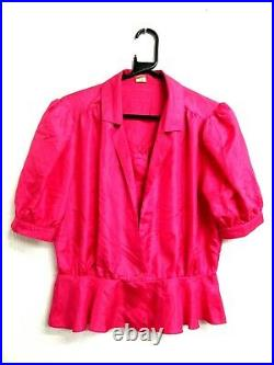 50 VINTAGE 80's RETRO BLOUSES SHIRTS TOPS WOMEN'S WHOLESALE CLOTHING JOB LOT