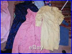 50+ VINTAGE WHOLESALE Dresses 50s 60s 70s 80s Job Lot