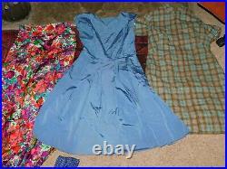 55+ VINTAGE WHOLESALE Dresses Blouses Skirts 40s 50s 60s 70s 80s Job Lot