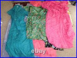 55+ VINTAGE WHOLESALE Dresses Blouses Summer knit 50s 60s 70s 80s Job Lot