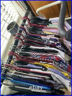 60 X Mixed Branded Clothing Wholesale Job Lot Bulk High Street Dress Tops Jeans