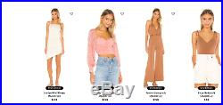 6pc Womens Wholesale Clothing Lot FROM REVOLVE! Retails up to $700+