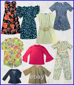 BOX OF 50 Mix Branded NEW Womens Clothing Items Joblot Wholesale bankrupt stock