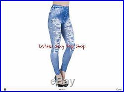 Denim Look Jeggins Leggings Wholesale 100x. LAST LOT