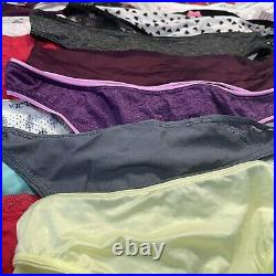 HUGE LOT 41 NWT Victoria's Secret Thong Bikini Wholesale Panties L