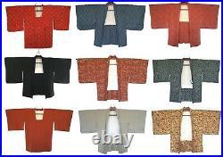 JOB LOT 20x Vintage Japanese Kimono + Haori WHOLESALE