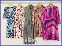 Job Lot #B Wholesale 60 x 70s 80s Vintage Shirt Secretary Tea Summer Dresses