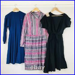 Job Lot #C Vintage Wholesale 50 x 70s 80s Dresses Grade A