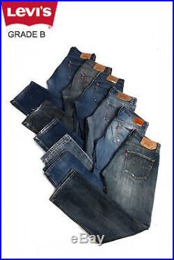 Job Lot Vintage Levis 501 Jeans Wholesale X20 Pieces Grade B
