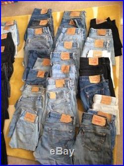 Job Lot Vintage Levis Shorts Grade B Wholesale X20 Pieces Joblot Resell
