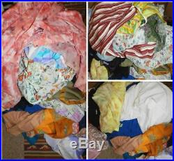 Job Lot Wholesale 130 Womens Vintage Shop Stock Dresses Blouses Knitwear