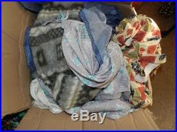 Job Lot Wholesale 220+ Items Womens Vintage Shop Stock Dresses Blouses Knitwear