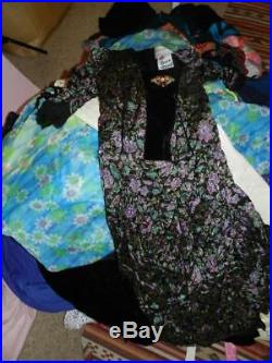 Job Lot Wholesale Womens Vintage Shop Stock Dresses Blouses Knitwear