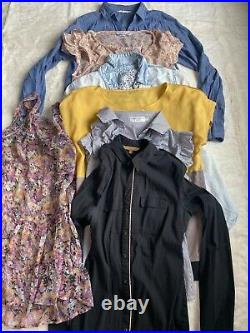 Joblot wholesale house clearance womens assorted clothing over 100 pcs luxurious