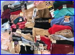 LOT of 75 Mixed Underwear Lot Wacoal Calvin Klein Bali Retail $2200 Wholesale