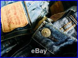 Levis 250 Pcs Vintage Levi's Jeans Wholesale Job Lot Random Colours Sizes