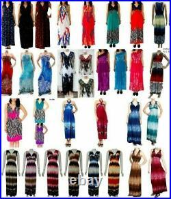 Lot 25 Pcs Wholesale Womens Dresses Tops Shirts Bottoms Mixed Apparel S M L