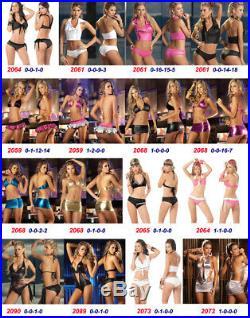 Lot 50 Pcs WHOLESALE SEXY LINGERIE Bikini INTIMATES DANCE Wear S M L XL