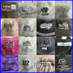 Lot of 50 Wholesale Music Concert Band Modern Womens T-Shirt Various Sizes 1585