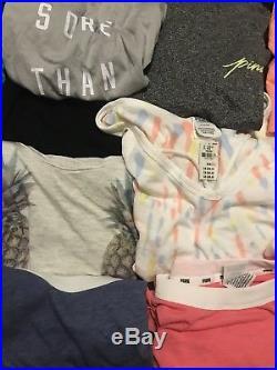 NEW Victoria Secret/PINK Wholesale 25 Lot Tops, Sleepwear, Shorts Liquidation