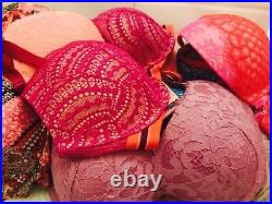 NWT VICTORIA'S SECRET Very Sexy Dream Body Bras Lace Satin Mix WHOLESALE 10 PC