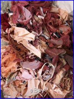 NWT Wholesale VICTORIAS SECRET Unlined Bralette Bras Small Authentic (50) Lot