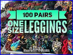 New Lularoe Leggings Os One Size Ws Wholesale Lot 100 Pairs Piece Resell Make $