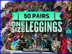 New Lularoe Leggings Os One Size Ws Wholesale Lot 50 Pair Pieces Resell Make $$$