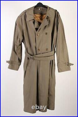 Trench Coats Mens Retro 90s Long Jacket Vintage Job Lot Wholesale x15 -Lot476