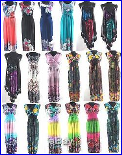 US Seller-bulk wholesale 30 dresses maxi sundress beach dress Summer Beach Wear