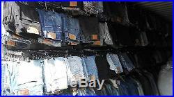 Unisex 500 Pcs Vintage Levi's Jeans Wholesale Job Lot Random Colours Sizes