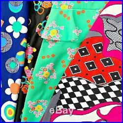 VINTAGE WHOLESALE 100 x 60s 70s DRESSES FLORAL MOD RETRO 60s/70s WOMENS GRADE A