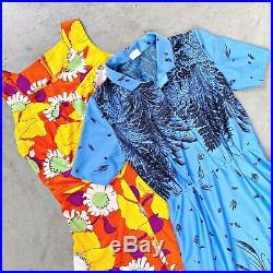 VINTAGE WHOLESALE 50 x 60s 70s DRESSES FLORAL MOD RETRO 60s/70s WOMENS GRADE A