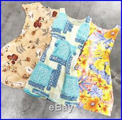 VINTAGE WHOLESALE 50 x 90s PRINTED SUMMER DRESSES