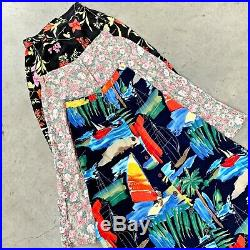 VINTAGE WHOLESALE LADIES FLORAL SUMMER BUTTON FRONT SKIRTS WOMENS GRADE A x 20